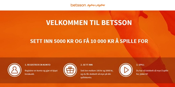 Betsson oddsbonus