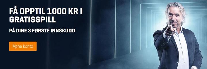 NordicBet oddsbonus til nye spillere i Norge